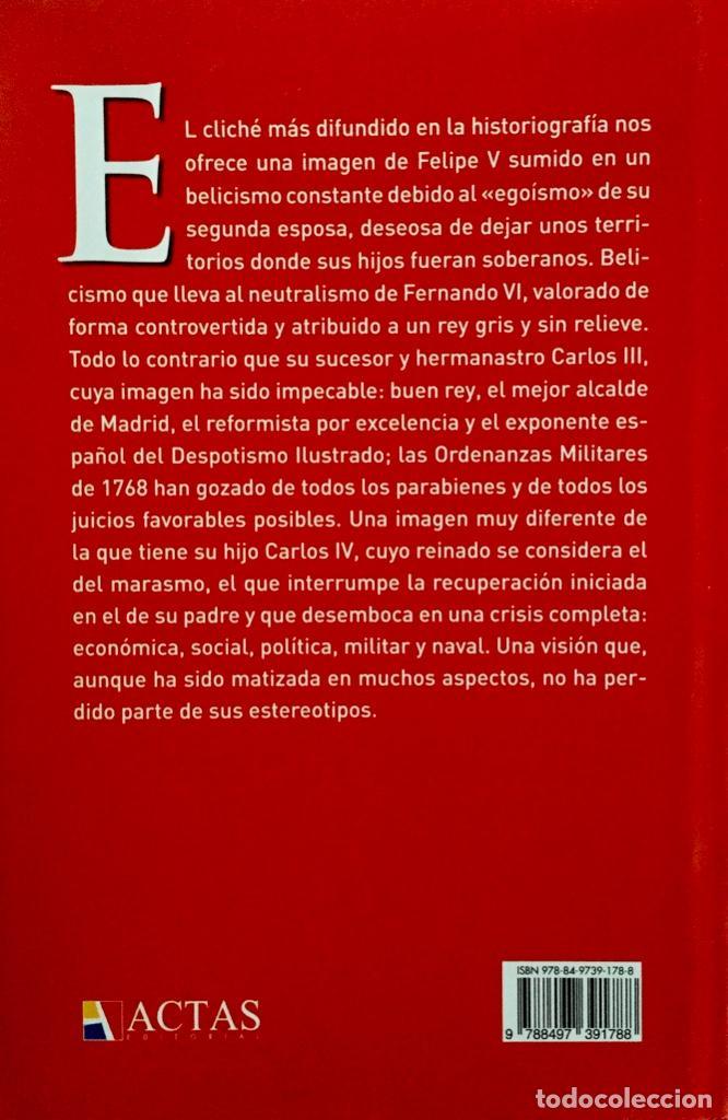 Militaria: EL EJERCITO DEL REY. Los soldados de la Ilustración. Enrique Martínez Ruíz. Tapa dura sobrecubierta. - Foto 2 - 224697913