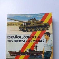 Militaria: ESPAÑOL, CONOCE TUS FUERZAS ARMADAS...DECADA DE LOS 80..CURIOSO... Lote 224934560