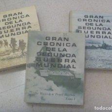 Militaria: GRAN CRONICA DE LA SEGUNDA GUERRA MUNDIAL . READER´S DIGEST. 2 ª EDICION 1965 . 3 TOMOS DE LUJO. Lote 226418576