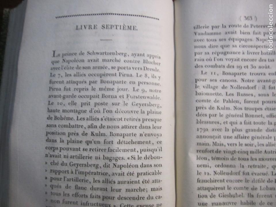 Militaria: HISTOIRE DE LA GUERRE DE RUSSIE ET DALLEMAGNE M.SARRAZIN 1815 PARIS - Foto 8 - 226694895
