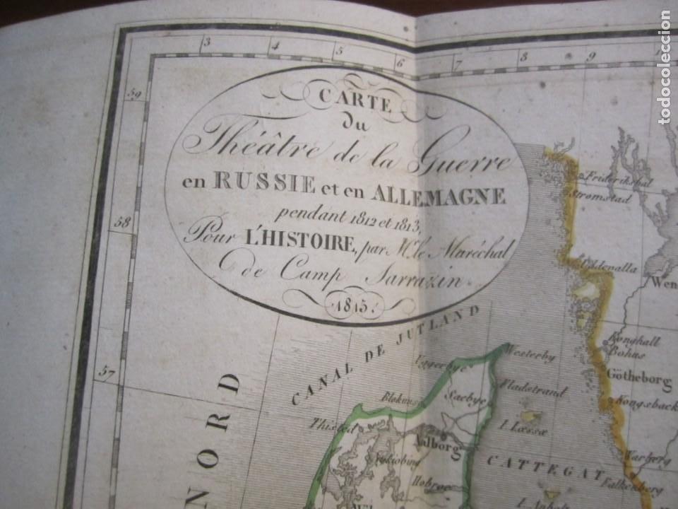 Militaria: HISTOIRE DE LA GUERRE DE RUSSIE ET DALLEMAGNE M.SARRAZIN 1815 PARIS - Foto 9 - 226694895