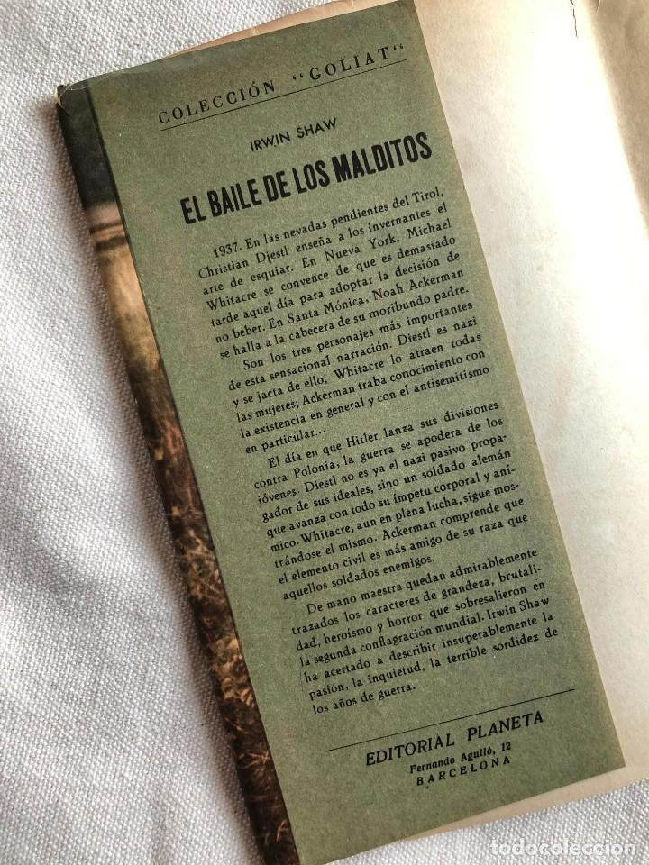 Militaria: Libro. El Baile de los Malditos. 1963. Irwin Shaw. II Guerra Mundial. Marlon Brando. III Reich. - Foto 7 - 227915870