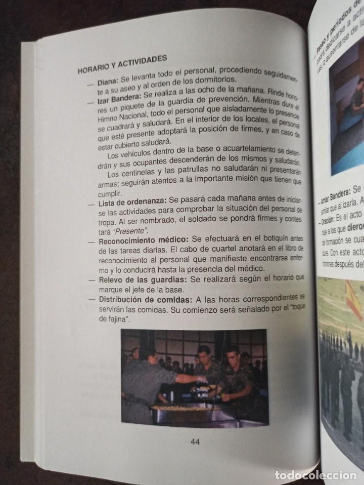 Militaria: MANUAL DE INSTRUCCIÓN BÁSICA DEL SOLDADO TOMÓ I TEORÍA - Foto 3 - 228859465
