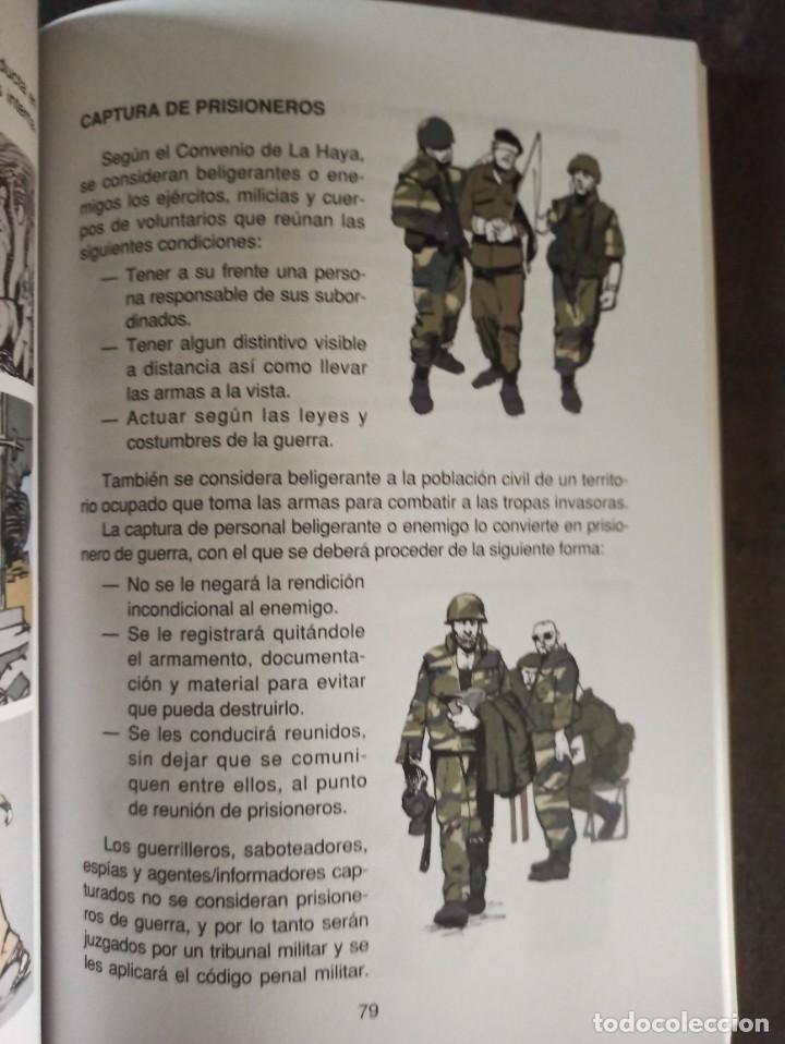 Militaria: MANUAL DE INSTRUCCIÓN BÁSICA DEL SOLDADO TOMÓ I TEORÍA - Foto 4 - 228859465