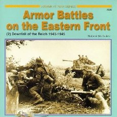 Militaria: ARMOR BATTLES ON THE EASTERN FRONT (2) DOWNFALL OF THE REICH 1943-1945 CONCORD PUBLICATIONS. Lote 229121870