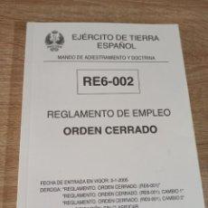 Militaria: ORDEN CERRADO EJERCITO DE TIERRA ESPAÑOL MOSQUETÓN CETME C, L Y LC G36 Z70 GUIONES Y BANDERINES. Lote 231689515