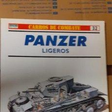 Militaria: PANZER LIGEROS. OSPREY CARROS DE COMBATE. Lote 232171230