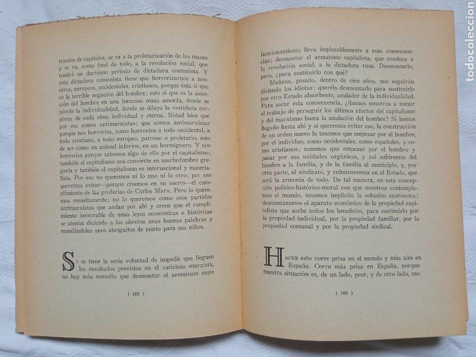 Militaria: Libro guerra civil José Antonio falange. Discursos.franco.militar.nacional.ejercito.requete - Foto 2 - 232680230