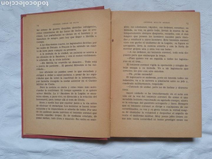 Militaria: Libro post guerra civil general Millán Astray. Legión.falange.legionario.franco.nacional.militar.eje - Foto 3 - 232681155