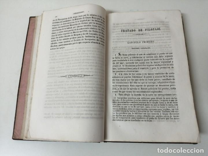 Militaria: ESTUDIOS GENERALES DE MARINA GABRIEL CISCAR TRATADO DE PILOTAJE 1838 ILUSTRADO - Foto 4 - 234447420