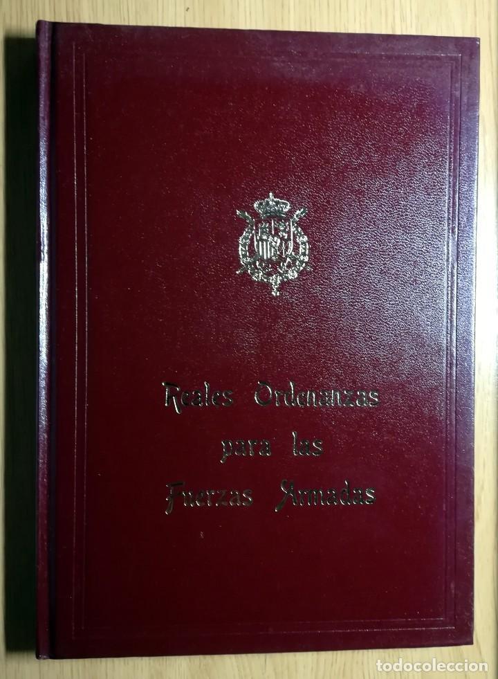 REALES ORDENANZAS PARA LAS FUERZAS ARMADAS 1979 TAPA DURA PRIMERA EDICION 128 PAGINAS (Militar - Libros y Literatura Militar)