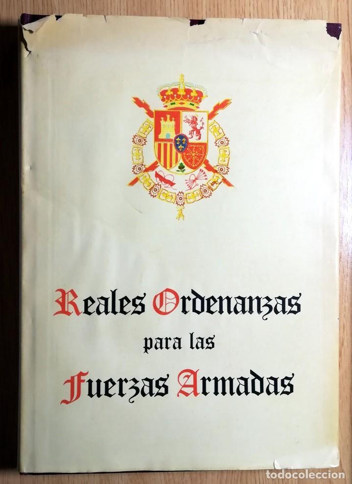 Militaria: REALES ORDENANZAS PARA LAS FUERZAS ARMADAS 1979 TAPA DURA PRIMERA EDICION 128 PAGINAS - Foto 2 - 235536060