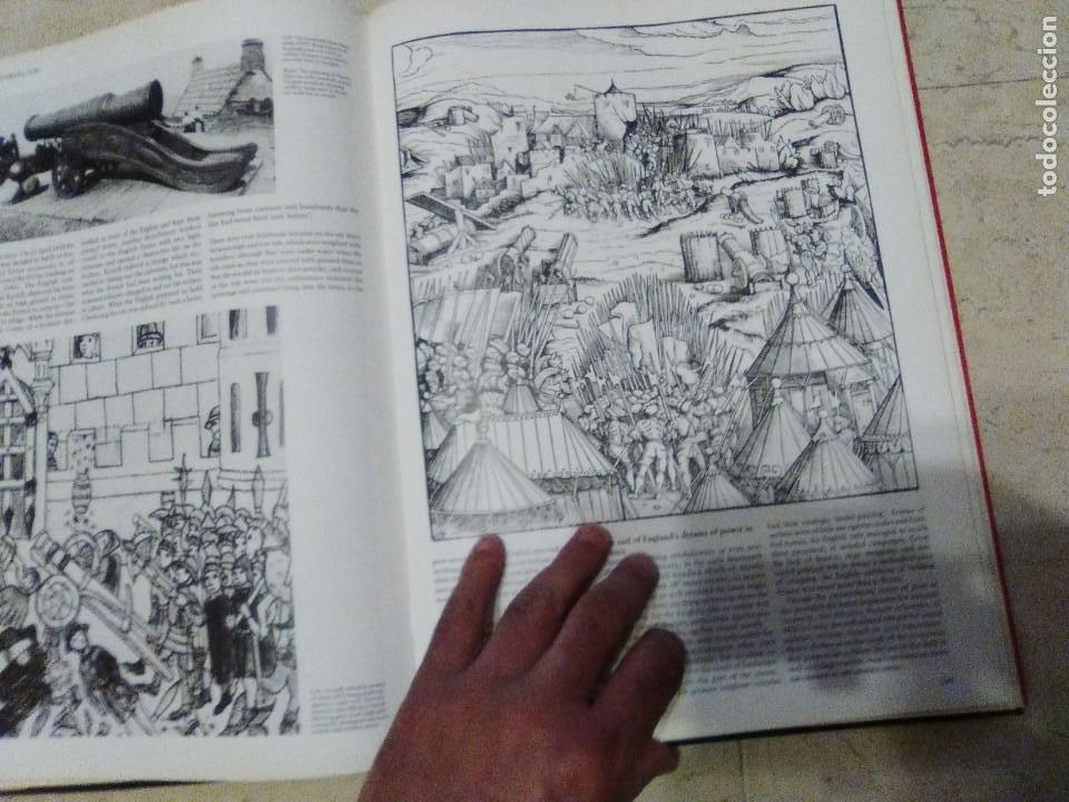 Militaria: LIBRO GIGANTE LA GUERRA EN LA EDAD MEDIA MUY ILUSTRADO MIRAR FORMATO MAS QUE A3 - Foto 8 - 235597420