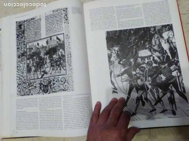 Militaria: LIBRO GIGANTE LA GUERRA EN LA EDAD MEDIA MUY ILUSTRADO MIRAR FORMATO MAS QUE A3 - Foto 10 - 235597420