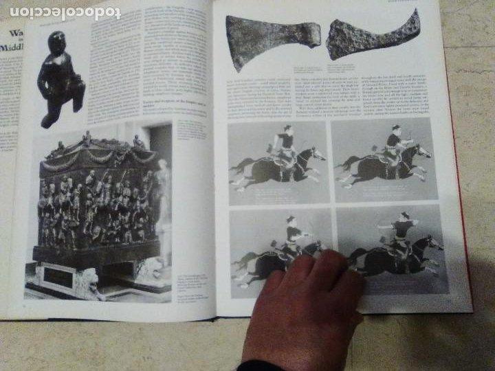Militaria: LIBRO GIGANTE LA GUERRA EN LA EDAD MEDIA MUY ILUSTRADO MIRAR FORMATO MAS QUE A3 - Foto 13 - 235597420