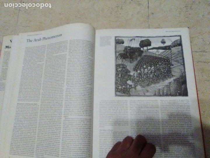 Militaria: LIBRO GIGANTE LA GUERRA EN LA EDAD MEDIA MUY ILUSTRADO MIRAR FORMATO MAS QUE A3 - Foto 14 - 235597420