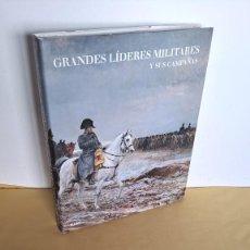 Militaria: JEREMY BLACK - GRANDES LIDERES MILITARES Y SUS CAMPAÑAS - EDICIONES BLUME 2008. Lote 236090710