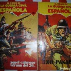 Militaria: 2 COMICS GUERRA CIVIL, 1979. Lote 236559575