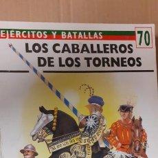 Militaria: LOS CABALEROS DE LOS TORNEOS. OSPREY EJERCITOS Y BATALLAS. Lote 236891440