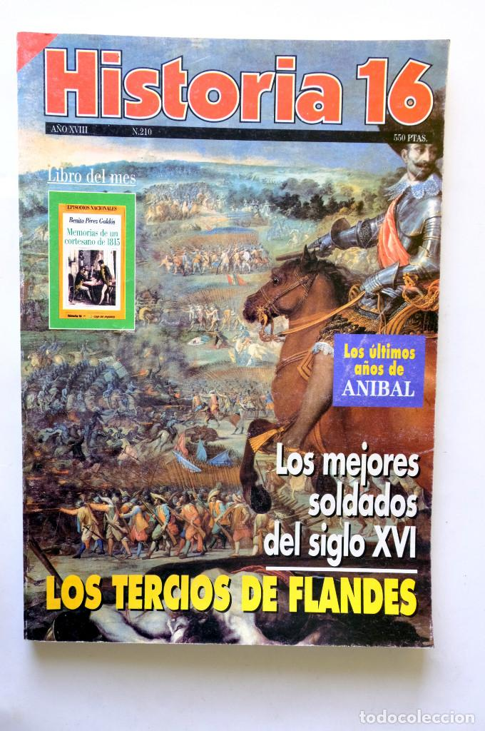 REVISTA HISTORIA 16 Nº 210 (Militar - Libros y Literatura Militar)