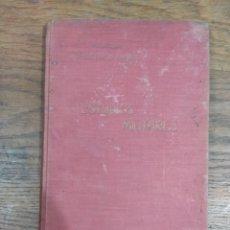 """Militaria: LIBRO """"ESTUDIOS MILITARES"""" 1926. Lote 238318415"""