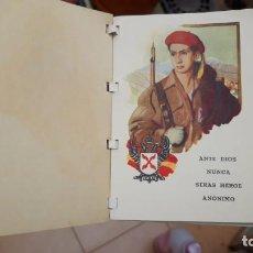 Militaria: LA ORDENANZA DEL REQUETE LIBRO ORIGINAL DE EPOCA PAPEL TIPO PAPIRO. Lote 238874025
