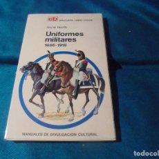 Militaria: UNIFORMES MILITARES. 1686-1918. RENE NORTH. BRUGUERA, 1ª EDC. 1972. Lote 239862710