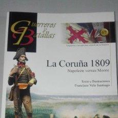 Militaria: LA CORUÑA 1809. NAPOLEON VERSUS MOORE. GUERREROS Y BATALLAS Nº67. EDITORIAL ALMENA. NUEVO.. Lote 239935000