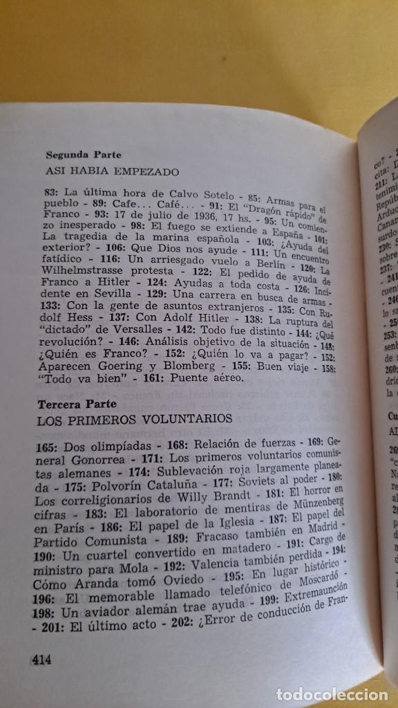 Militaria: WILFRED VON OVEN - HITLER Y LA GUERRA CIVIL ESPAÑOLA, MISIÓN Y DESTINO DE LA LEGION CONDOR - Foto 8 - 240515430