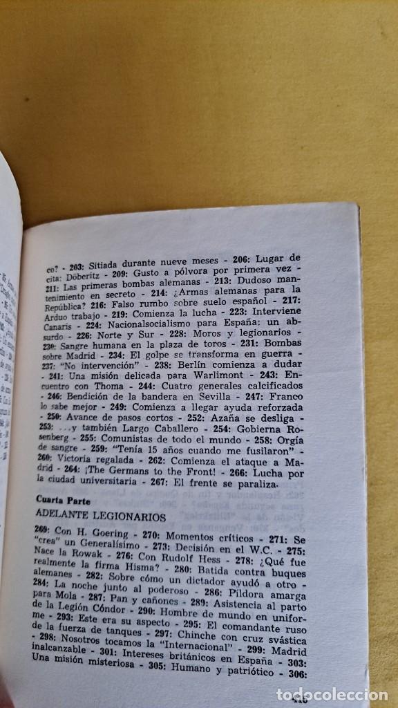 Militaria: WILFRED VON OVEN - HITLER Y LA GUERRA CIVIL ESPAÑOLA, MISIÓN Y DESTINO DE LA LEGION CONDOR - Foto 9 - 240515430