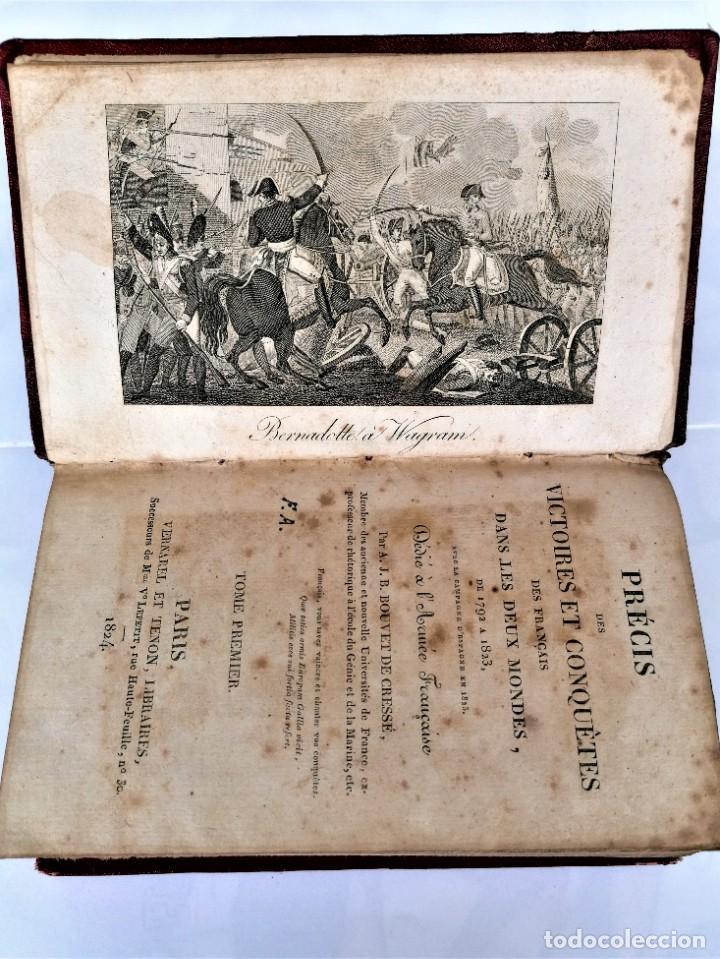 Militaria: VICTORIAS Y CONQUISTAS FRANCESES...1824,GUERRA INDEPENDENCIA,ZARAGOZA,MADRID,LUGO,MEDALLA NAPOLEON.. - Foto 7 - 241031160