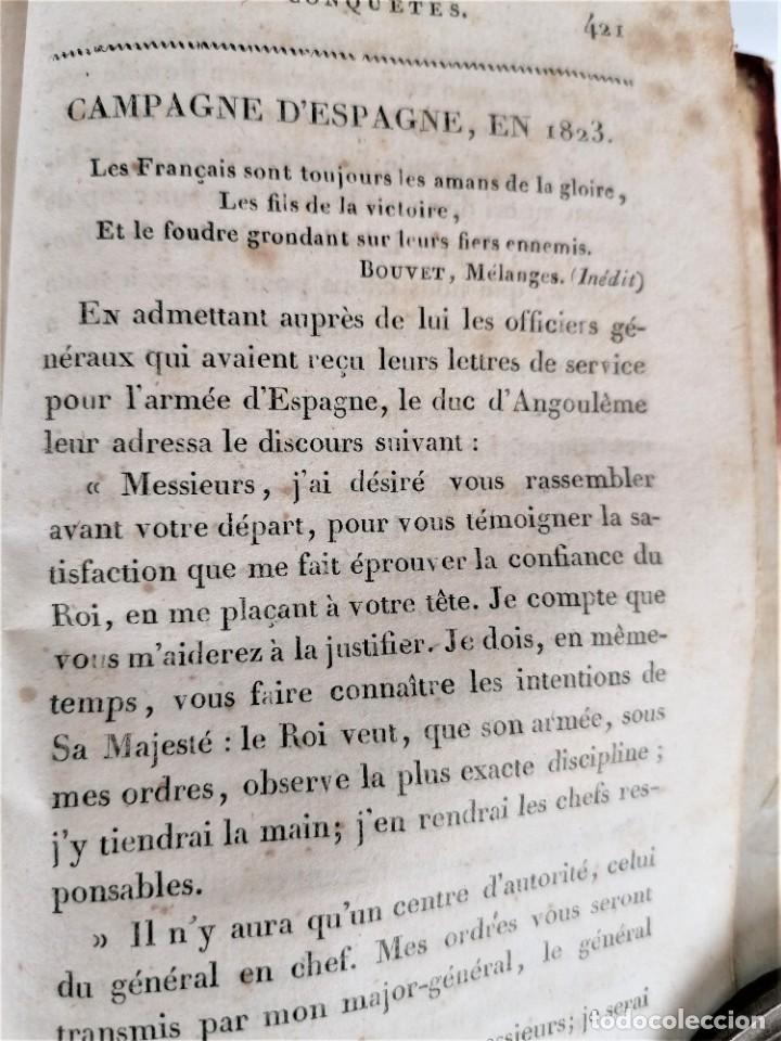 Militaria: VICTORIAS Y CONQUISTAS FRANCESES...1824,GUERRA INDEPENDENCIA,ZARAGOZA,MADRID,LUGO,MEDALLA NAPOLEON.. - Foto 15 - 241031160
