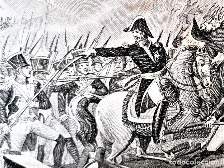 Militaria: VICTORIAS Y CONQUISTAS FRANCESES...1824,GUERRA INDEPENDENCIA,ZARAGOZA,MADRID,LUGO,MEDALLA NAPOLEON.. - Foto 12 - 241031160