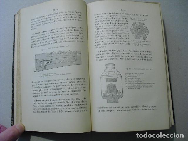 Militaria: 1892 L´ARTILLERIE DE CAMPAGNE COLONEL LANGLOIS DOS TOMOS DE TEXTO Y ATLAS OBRA COMPLETA - Foto 3 - 241080575