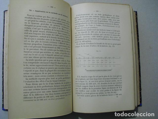 Militaria: 1892 L´ARTILLERIE DE CAMPAGNE COLONEL LANGLOIS DOS TOMOS DE TEXTO Y ATLAS OBRA COMPLETA - Foto 10 - 241080575