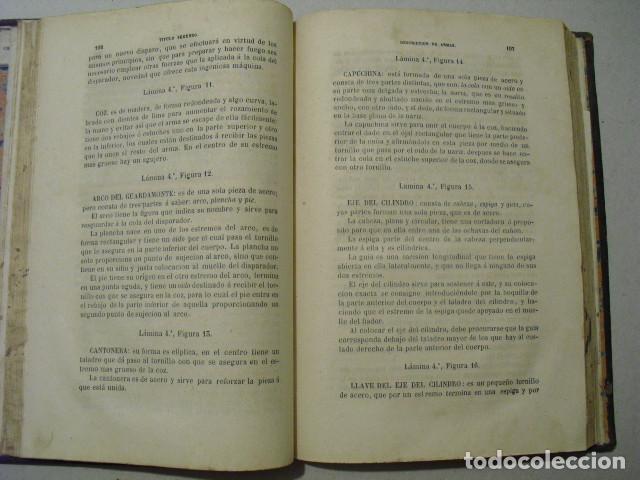 Militaria: 1858 ENSAYO TEORICO-PRACTICO SOBRE LAS ARMAS PORTÁTILES CORREA Y MARTINEZ DE VIERGOL - Foto 4 - 242977485