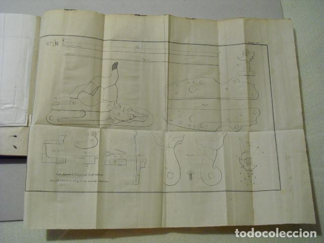 Militaria: 1858 ENSAYO TEORICO-PRACTICO SOBRE LAS ARMAS PORTÁTILES CORREA Y MARTINEZ DE VIERGOL - Foto 5 - 242977485
