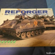 Militaria: LIBRERIA ARKANSAS LIBRO INGLES ED CONCORD REFORGER RETUR OF FORCES TO GERMANY. Lote 243584700