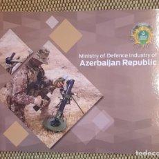 Militaria: CATALOGO DE PRODUCTOS DE DEFENSA DE AZERBAIYAN. Lote 243855750