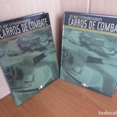 Militaria: ALTAYA: COLECCION COMPLETA DE FASCICULOS CARROS DE COMBATE: ENCUADERNADA CON LOS 50 FASCICULOS. Lote 244075405