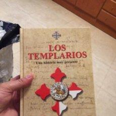 Militaria: GRAN LIBRO TAPAS GORDAS LOS TEMPLARIOS UNA HISTORIA MUY PRESENTE NUEVO SIN ESTRENAR. Lote 244695465