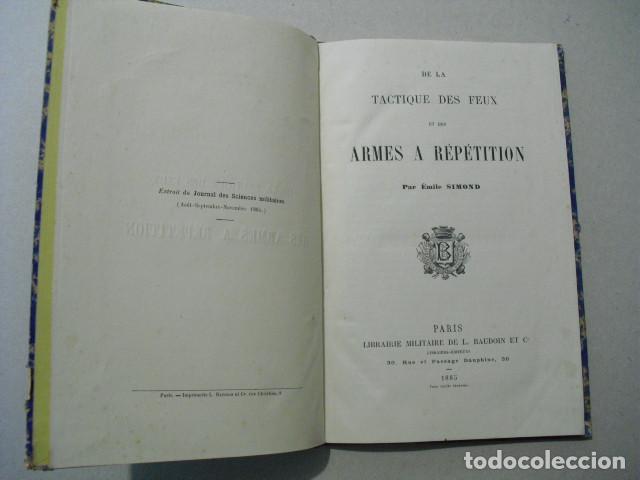 Militaria: 1885 ARMES A REPETITION EMILE SIMOND ÚNICO - Foto 2 - 245455905