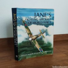Militaria: JANE'S FIGHTING AIRCRAFT OF WORLD WAR II - AVIONES DE LA SEGUNDA GUERRA MUNDIAL. Lote 248687655