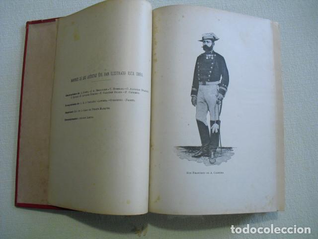 Militaria: RAZON Y FUERZA NARRACION MIITAR Y DE COSTUMBRES CUBANAS CABRERA 1893 - Foto 4 - 251501075