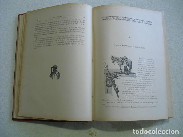 Militaria: RAZON Y FUERZA NARRACION MIITAR Y DE COSTUMBRES CUBANAS CABRERA 1893 - Foto 5 - 251501075