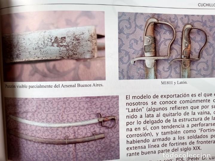 Militaria: Libro armas blancas Argentina - Foto 2 - 252401030