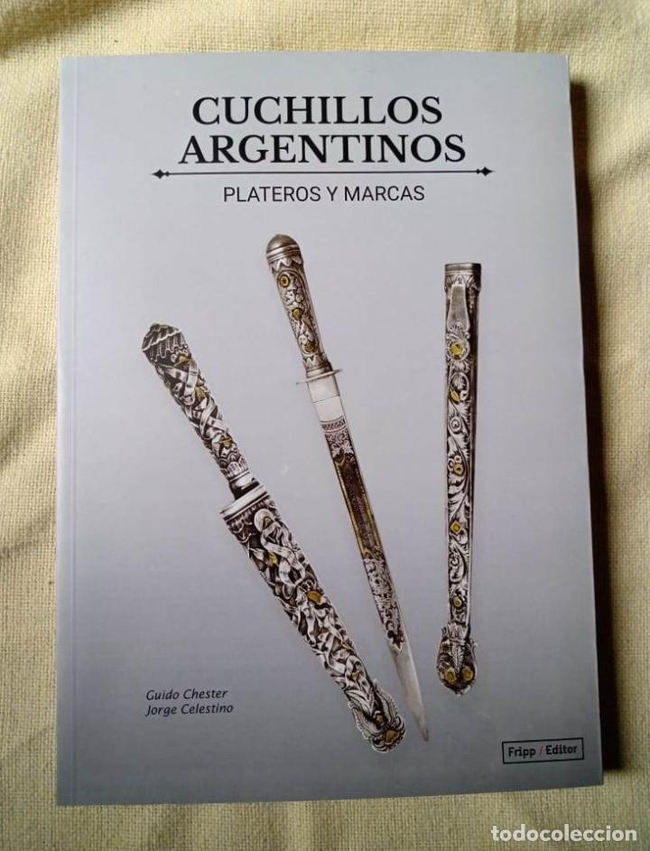 Militaria: Libro armas blancas Argentina - Foto 4 - 252401030