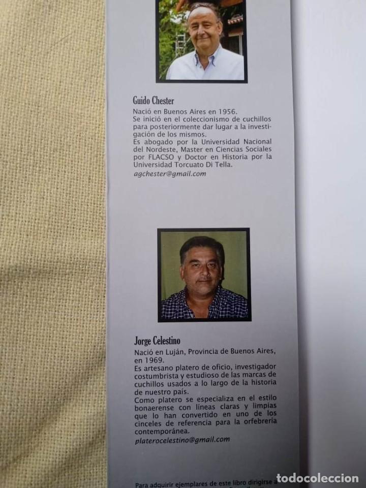 Militaria: Libro armas blancas Argentina - Foto 5 - 252401030