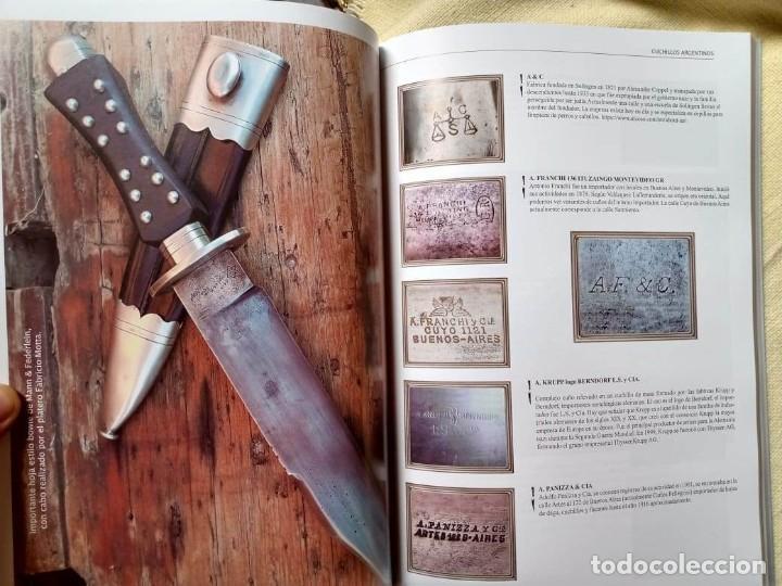 Militaria: Libro armas blancas Argentina - Foto 7 - 252401030