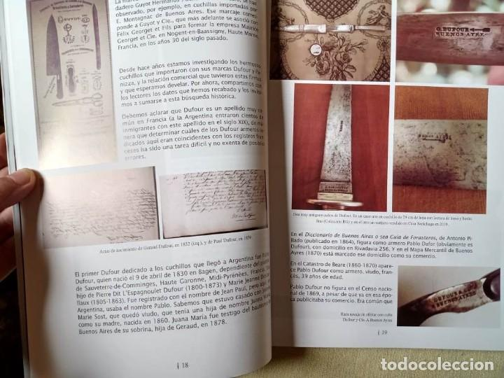 Militaria: Libro armas blancas Argentina - Foto 8 - 252401030